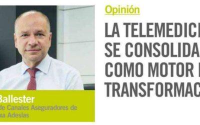 LA TELEMEDICINA SE CONSOLIDA COMO MOTOR DE LA TRANSFORMACION