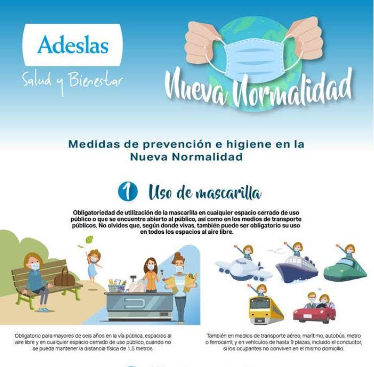 Nueva normalidad Adeslas