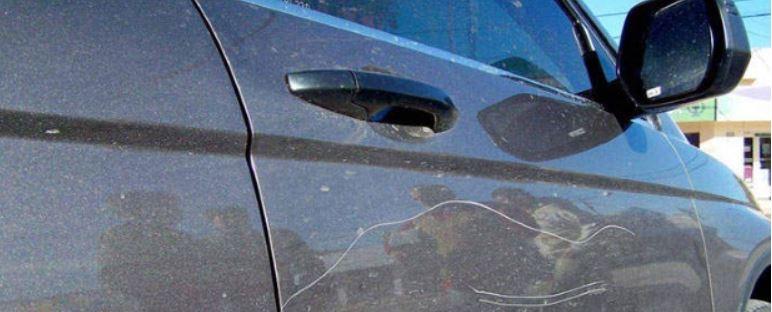 rayon en el coche seguro automovil