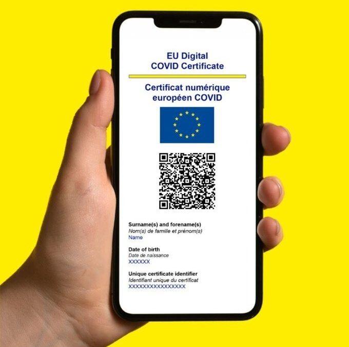 El Certificado COVID Digital de la UE a todos los ciudadanos residentes en España